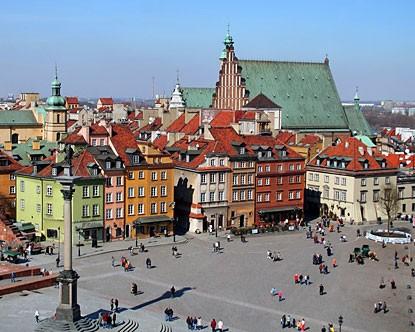 Centralni Pijačni trg u Starom gradu, Varšava
