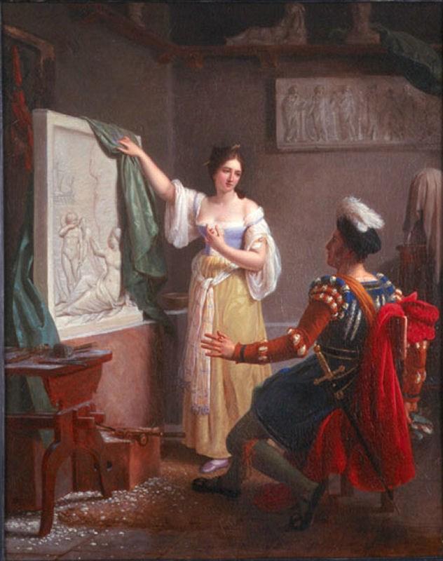 Slika iz 1822. predstavlja Propeciju sa svojim dovršenim delom