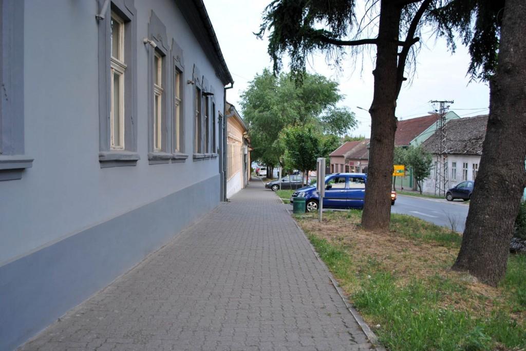 Ulica u kojoj je smeštena galerija