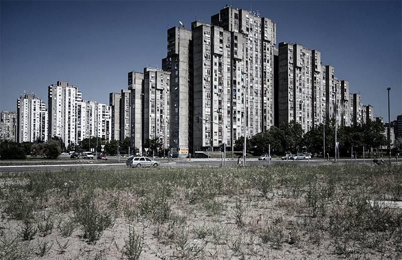 Blokovi 61-64, Novi Beograd Roberto Konte