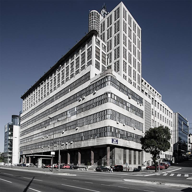 Zgrada BIGZ-a, Beograd Roberto Konte