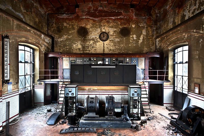 Napušteni industrijski objekat u Italiji Roberto Konte