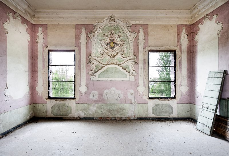 Napuštena vila u Italiji, fotografija Roberto Konte