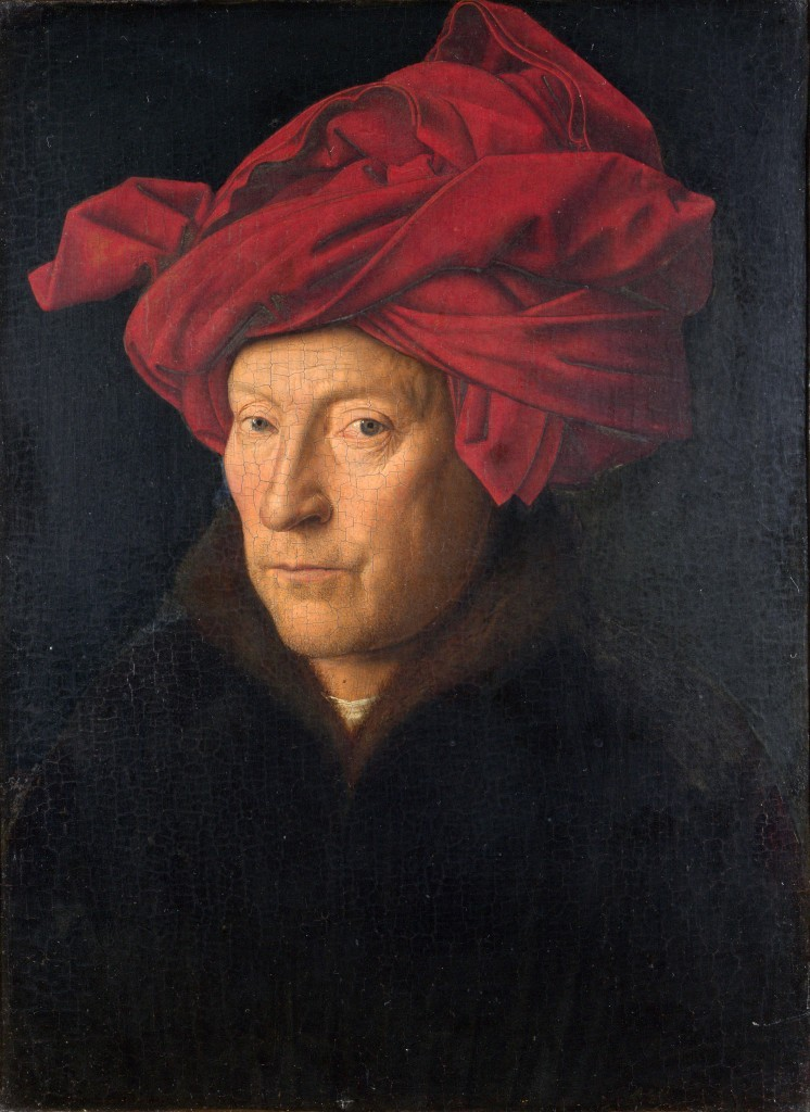 slika za koju se smatra da predstavlja autoportret Jana van Ajka