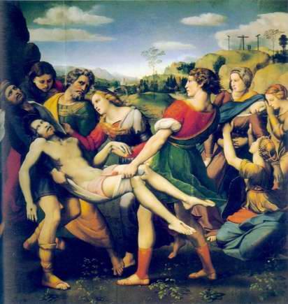 """Skidanje s krsta"" Rafaelo Santi"