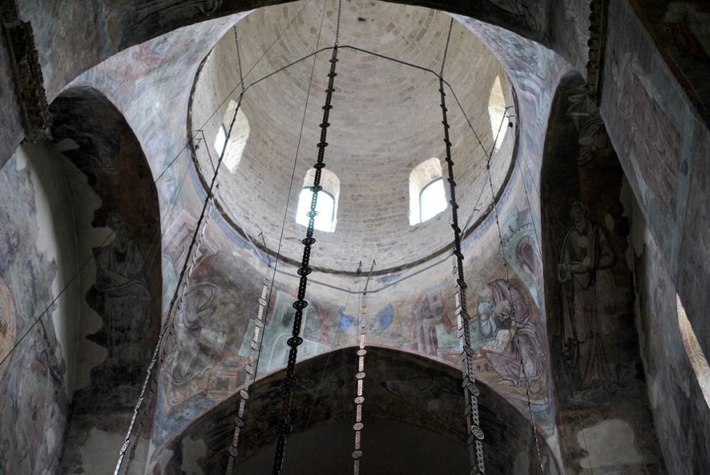Kupola, sa ostacima fresaka vrhunskog kvaliteta