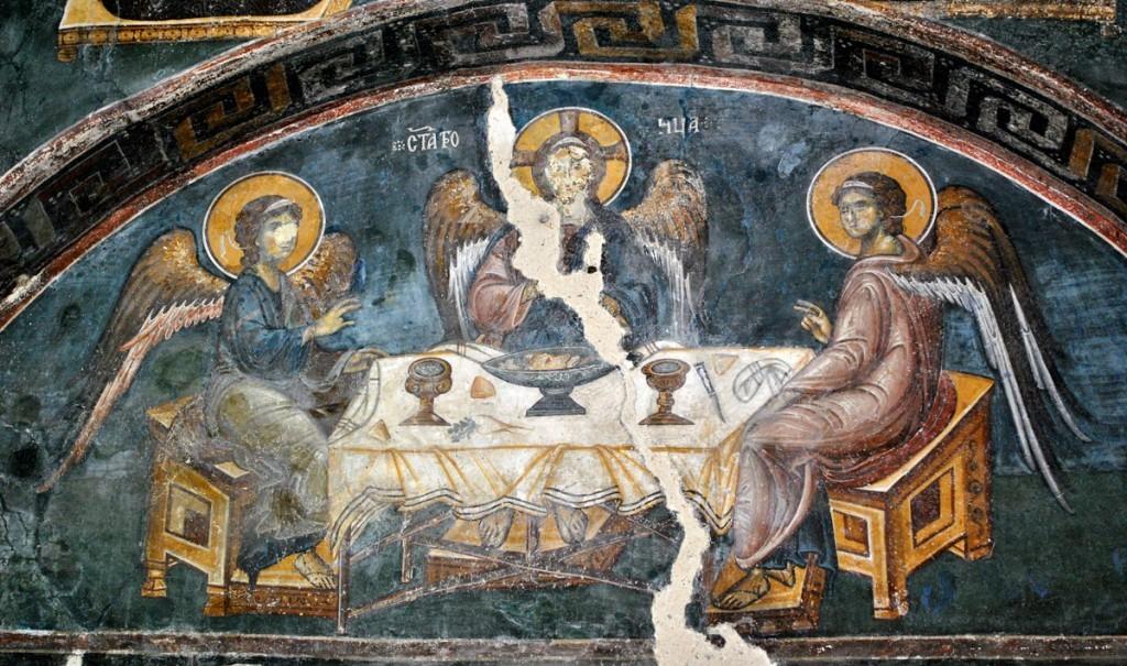 Gostoljublje Avramovo (Tri anđela)