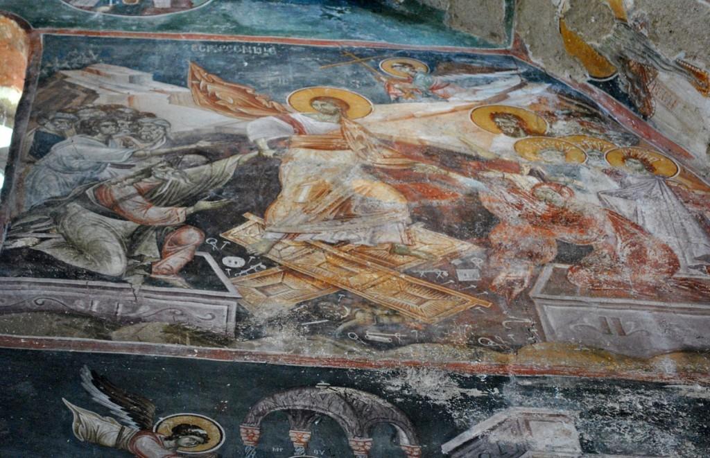 Kraljeva crkva, Silazak u ad ili predstava Vaskrsenja Isusovog