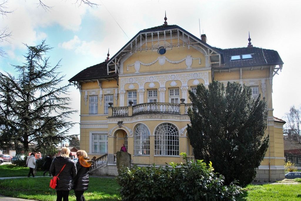 Zgrada Muzeja naivne i marginalne umetnosti u Jagodini