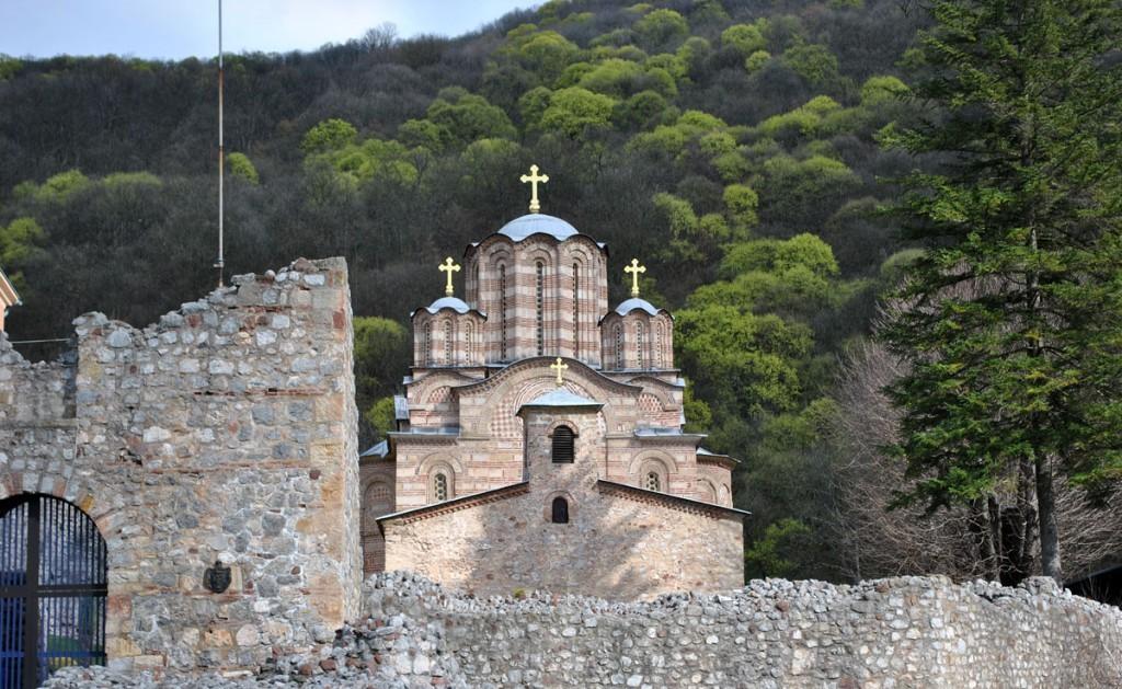Pogled na manastir Ravanicu