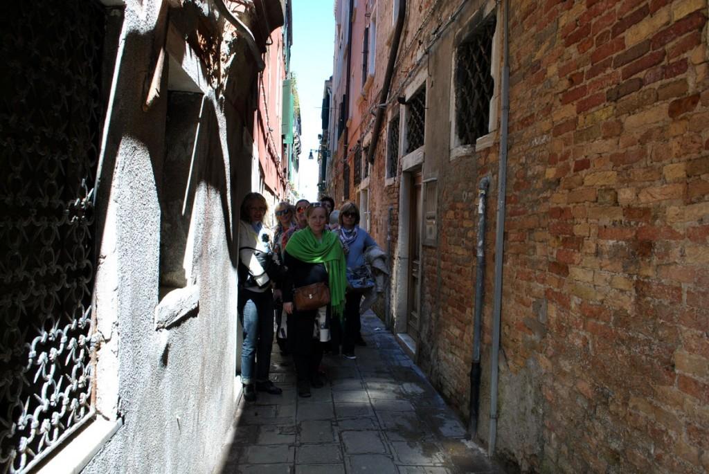 Napredovanje venecijanskim sokacima