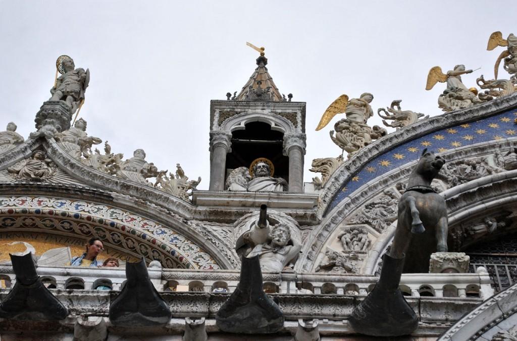 Detalji na crkvi Svetog Marka