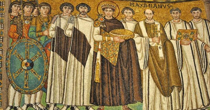 Povorka sa carom Justinijanom