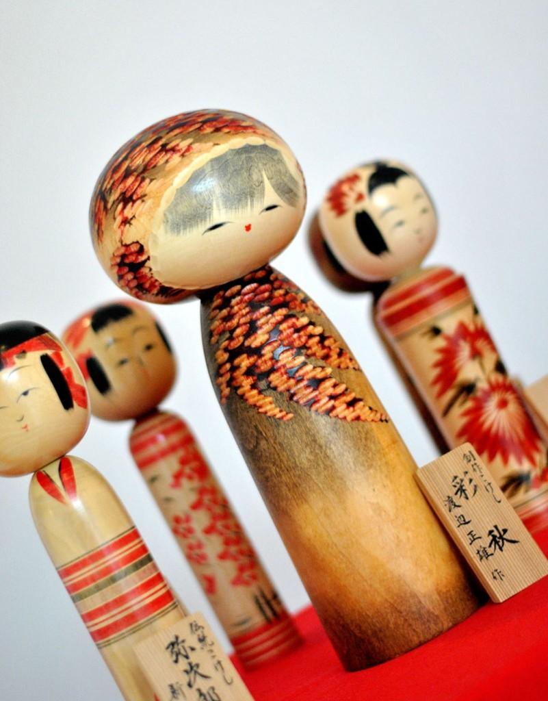 Tradicionalne Kokeši lutke