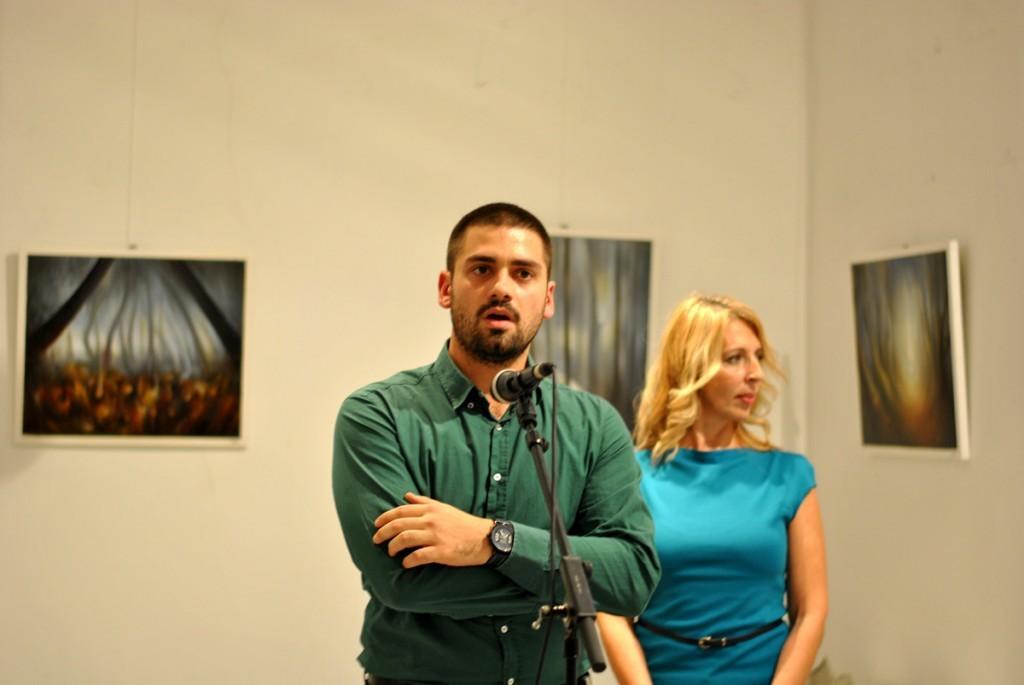 Uglješa Colić, član likovnog saveta galerije
