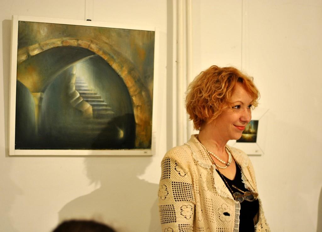 Slikarka Neda Stamatović
