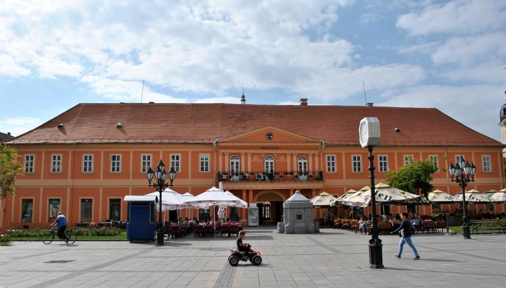 Istočna strana Gradske kuće. Pogled sa Trga svetog Đorđa