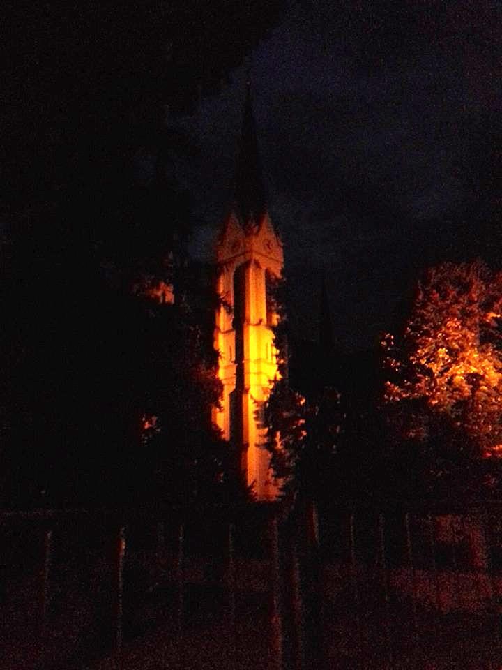 Futoška crkva, slikano mobilnim telefonom