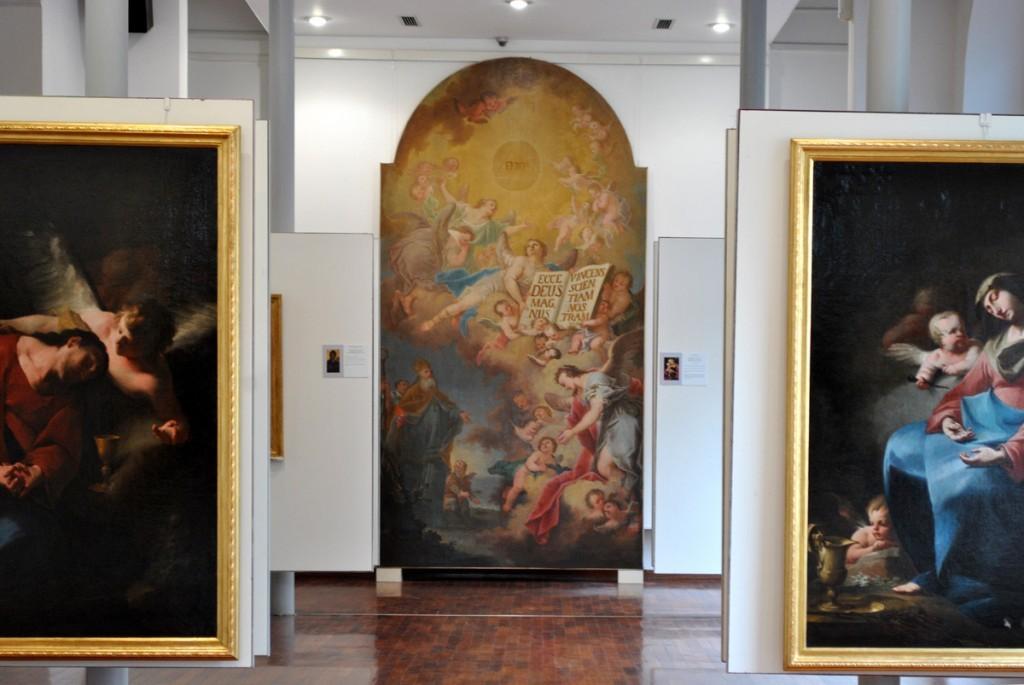 U centru fotografije 'Poštovanje Presvetog Trojstva' Ignaca Raba (Ignaz Raab) iz 1774.