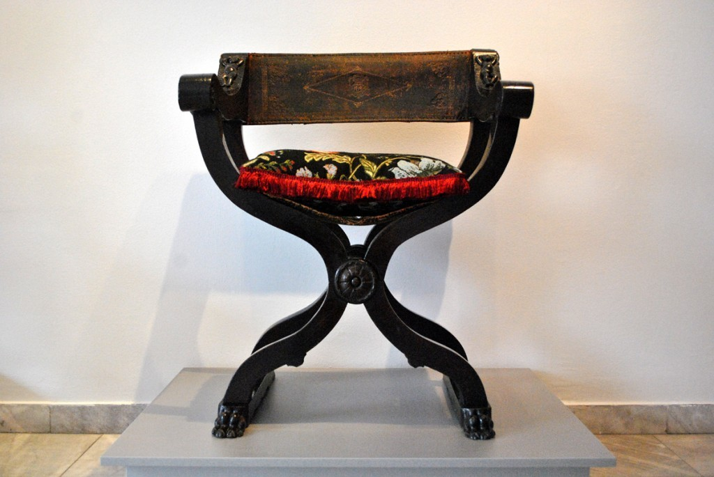 'Dante' stolica, severna Italija, XVI vek, renesansa