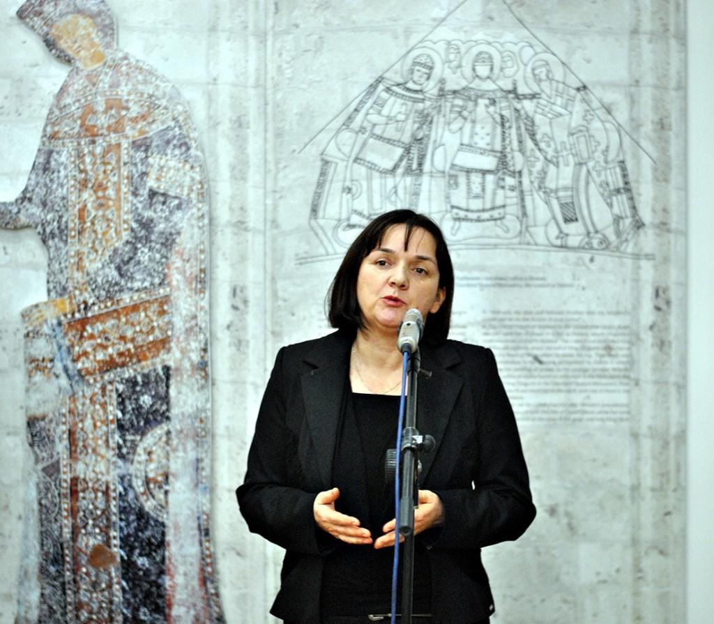 Tatjana Mihailović, arheološkinja, muzejska savetnica, Narodni muzej Kraljevo Fotografija Majda Sikošek