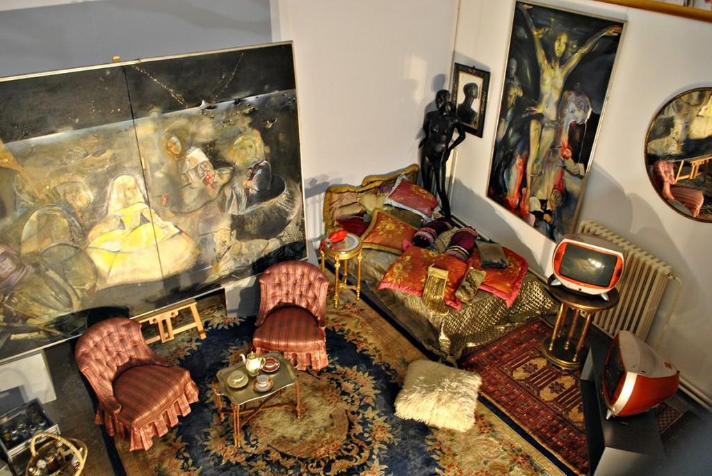 Rekonstrukcija Oljinog doma na izložbi