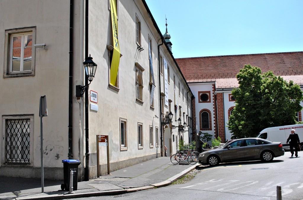 Mesto izložbe Klovićevi dvori