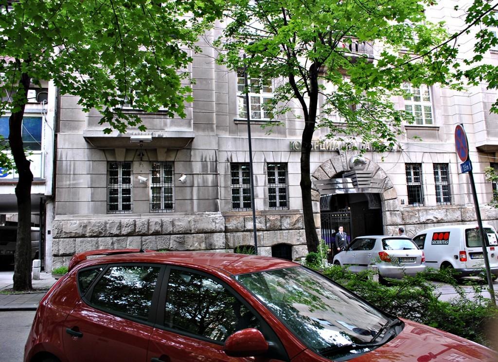 Zgrada Komande žandarmerija Kraljevine Jugoslavije, danas Komercijalna banka