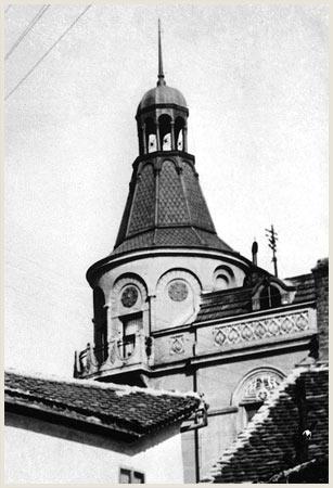 Izgled sa kupolom. Fotografija Zavoda za zaštitu spomenika grada Beograda