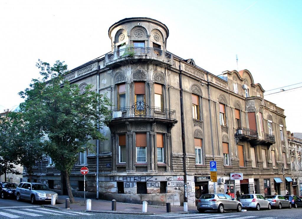 Kuća Mihaila L. Đurića, ugao Gospodar Jevremove i Kralja Petra