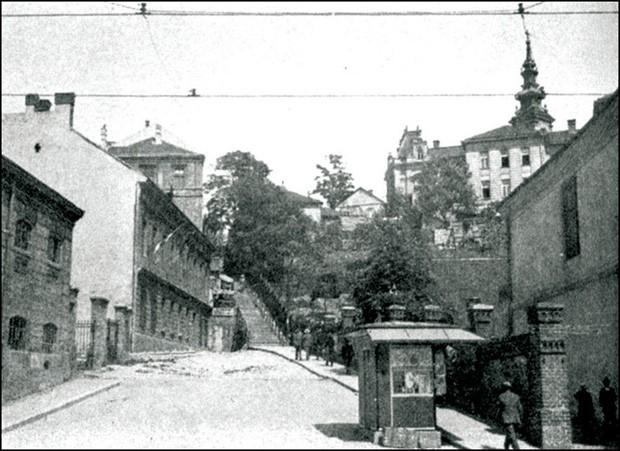 Velike stepenice početkom XX veka