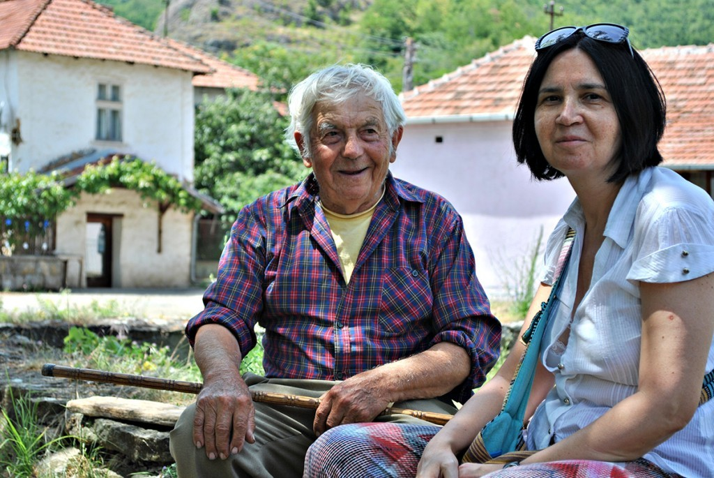 Prijateljica Darinka i deda Puja od 90 leta