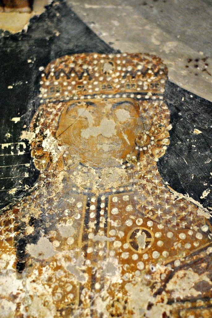 Despotica, freska u priprati