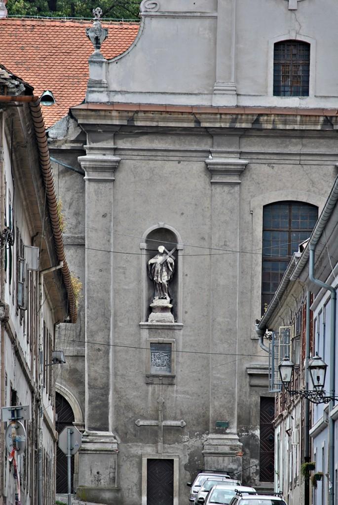 Pogled na crkvu manastira sv. Juraja
