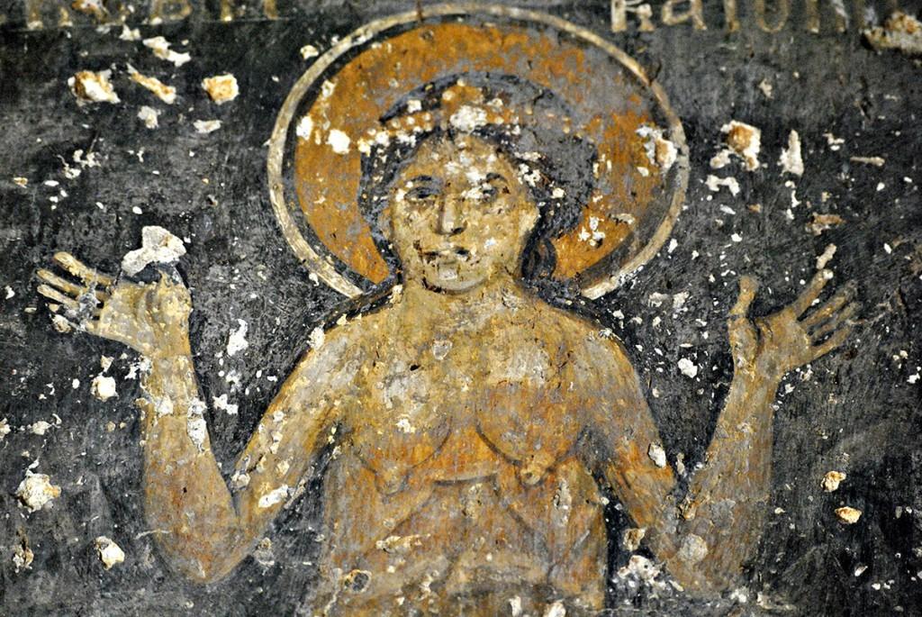 Prikaz sv. Petke golih grudi