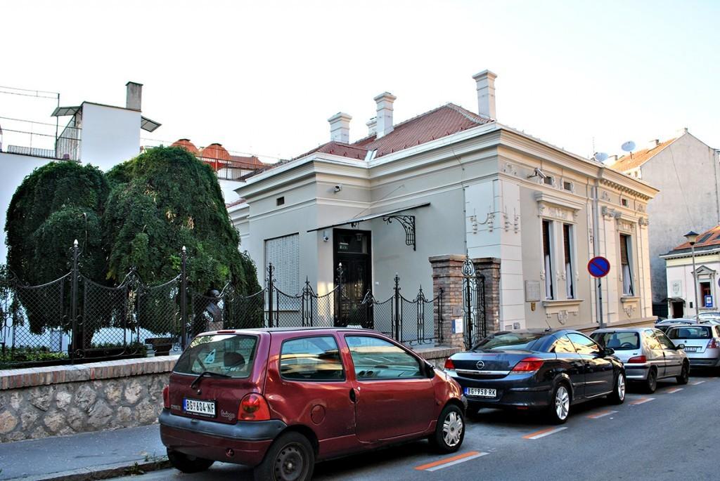Pogled na kuću iz Jelene Ćetković