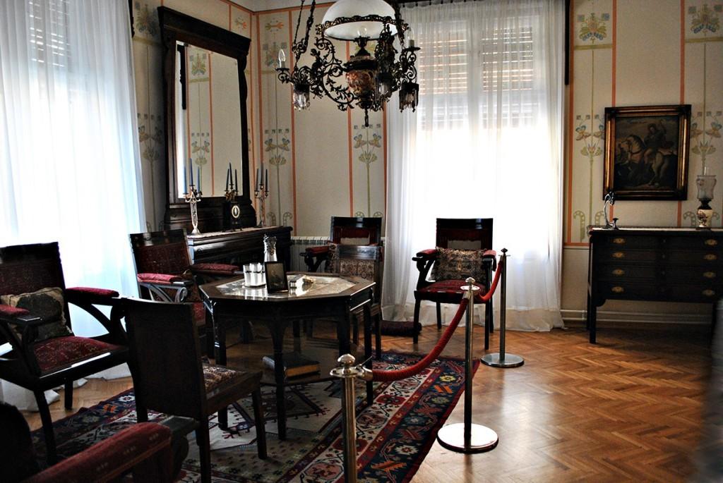 Salon pogled iz sobe supruge Ljubice