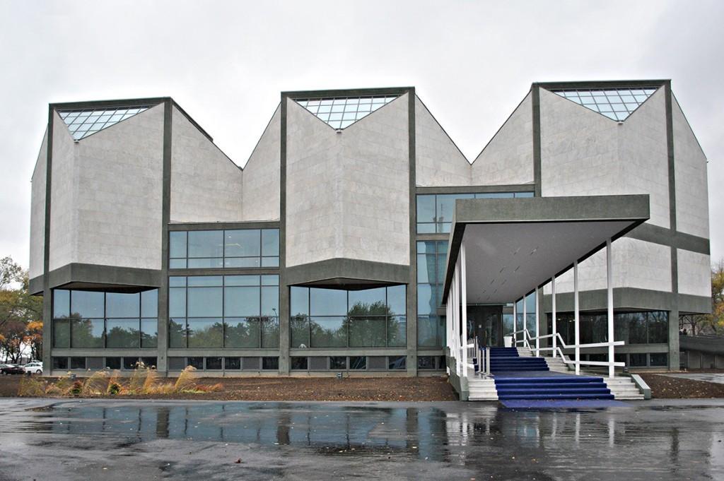 Obnovljena zgrada Muzeja savremene umetnosti u Beogradu, oktobar 2017.