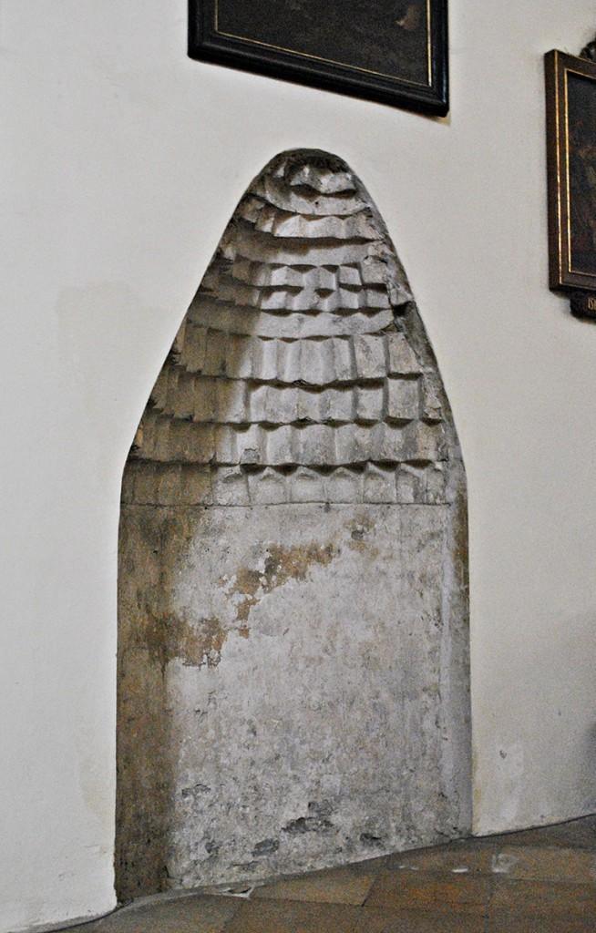 Mihrab iz doba kada je crkva bila pretvorena u džamiju