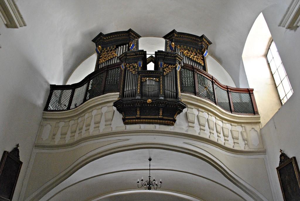 Mehaničke orgulje iz XVII veka. Kako Pater kaže 'prave orgulje na kakvima je svirao Bah'