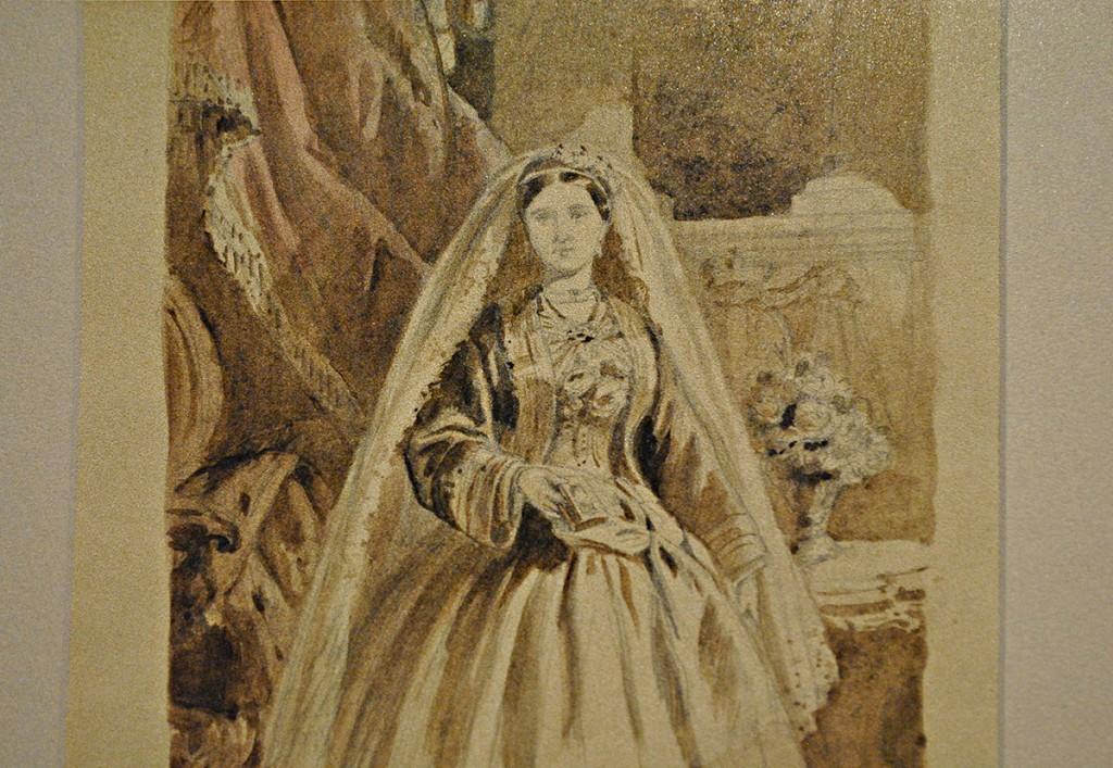 Nacrt za portret knjeginje Julije
