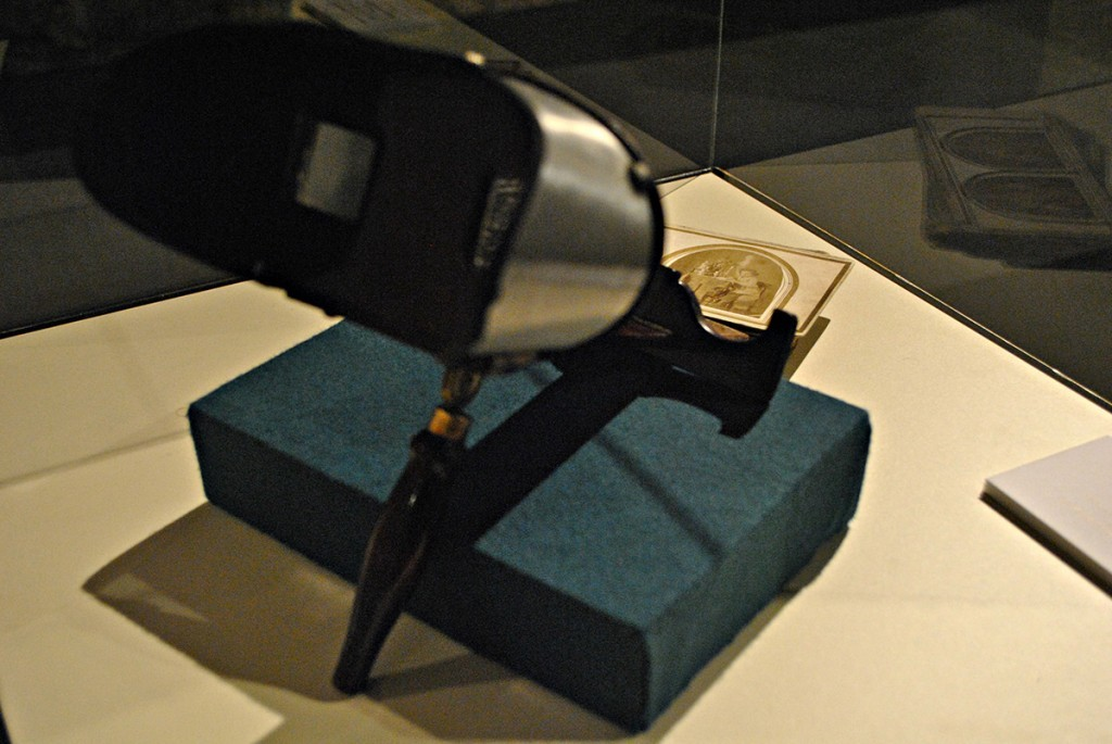 Stereoskop sa fotografijama kraj XIX veka, Muzej nauke i tehnike