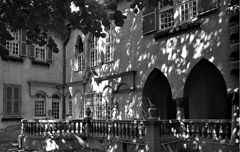 Dvorišna fasada, preuzeto iz Kataloga Zavoda za zaštitu spomenika kulture grada Beograda, Škarkina vila, autorka Ksenija Ćirić