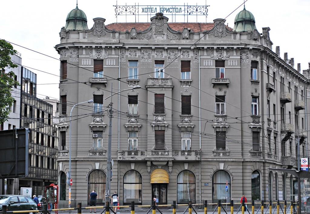 Pogled na fasadu iz ulice Hadži Nikole Živkovića (dolazna autobuska stancia)
