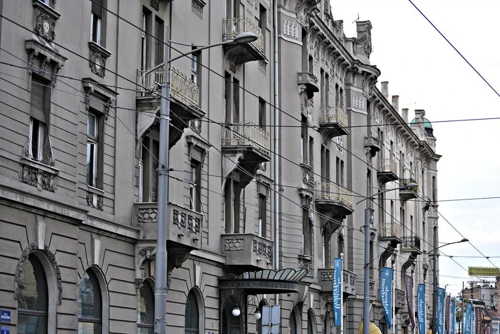 Fasada iz Karađorđeve ulice