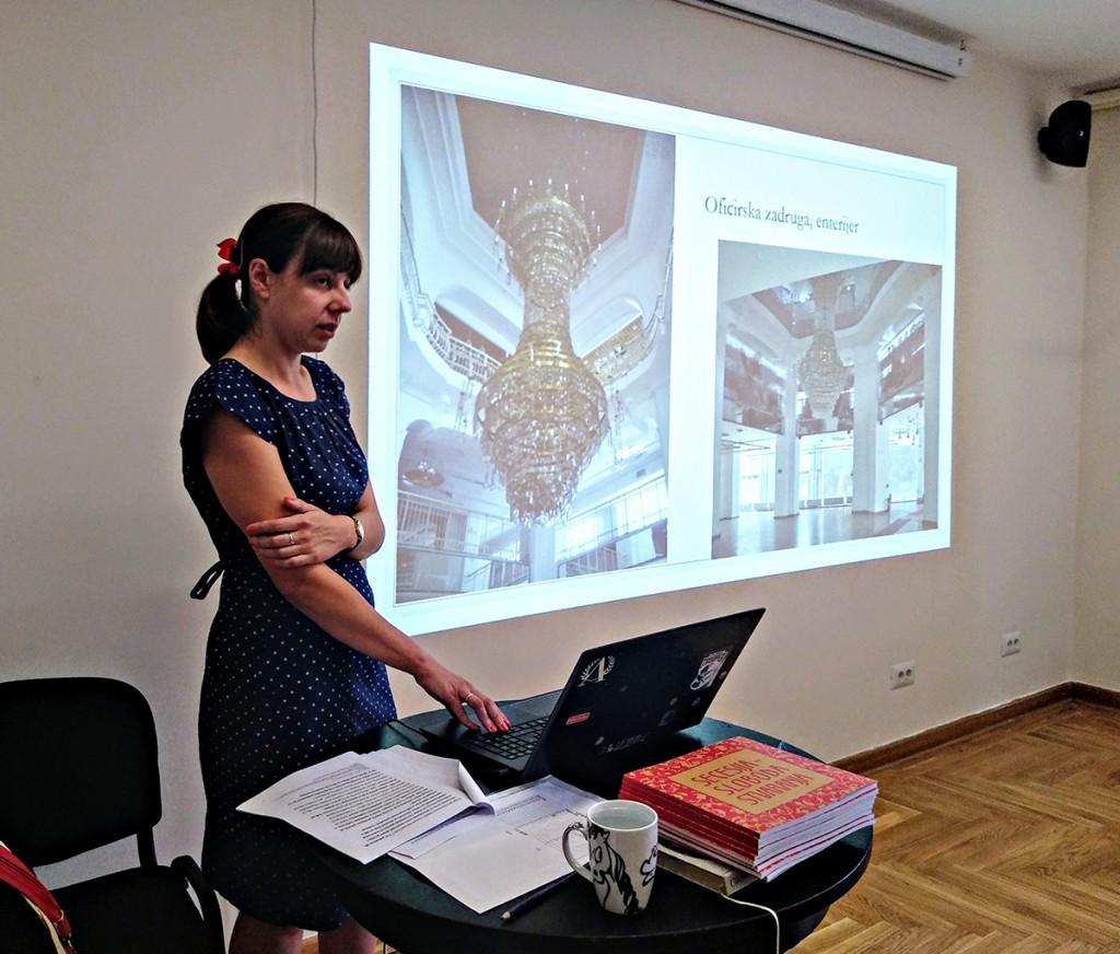 Posle obilaska pažljivo smo slušali o arhitekturi u stilu secesije u Beogradu