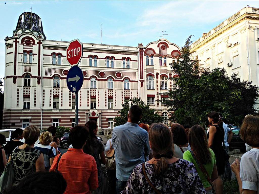 Drugo putovanje kroz istoriju završili smo ispred Zgrade Stare telefonske centrale