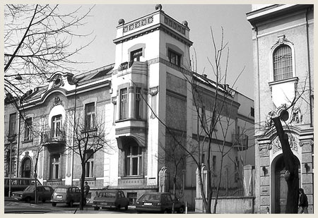 Kuća Leone Panajot, preuzeto sa stranice Zavoda za zaštitu spomenika kulture Beograda - beogradskonasledje.rs