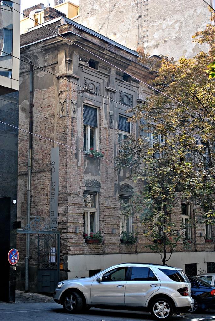 Kuća Pere Velimirovića u Resavskoj 25, do 2006. bila je u vlasništvu porodice