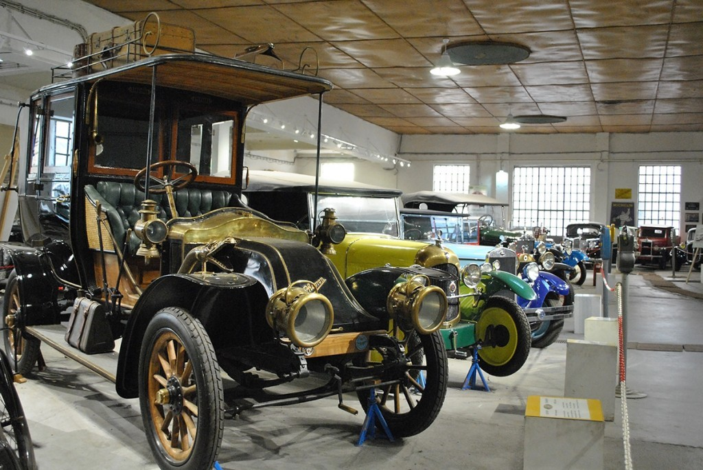 Belgrade Auto Museum, in front Model Charron 1908, France